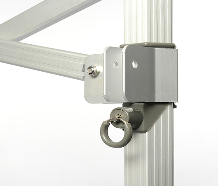 Aluminum Support and Ez-Ring Lock