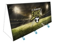 F.C. Force Soccer Team Custom V-Sign Display Graphics