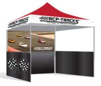 RCP Tracks Custom Canopy