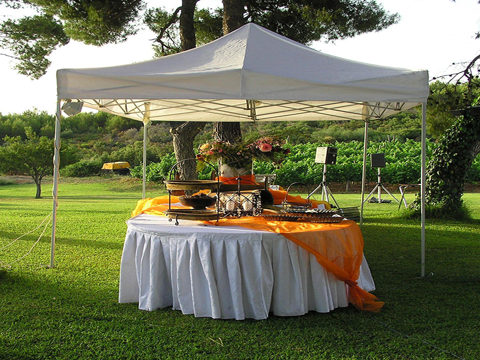 Wedding Catering Canopy Example