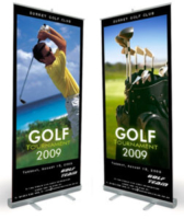 Golf Tournament Roll Banner Custom Graphics