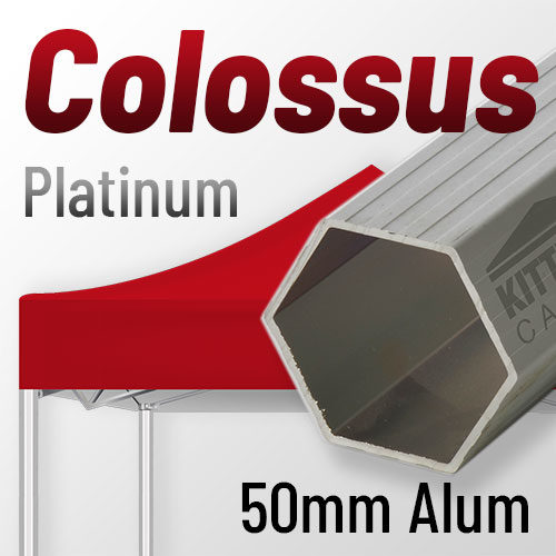 Colossus Platinum Level 50mm Aluminum