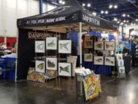 Custom Canopy - Danforth Art Booth