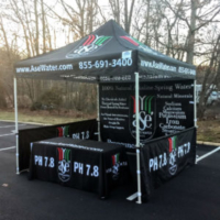 Custom Canopy Design for ASE Water with accessories