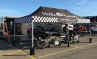 Custom Canopy - Hille Racing Sports Colossus 10x20 Tent