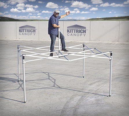 Kittrich Canopy Platinum Series Frame Strength Demo