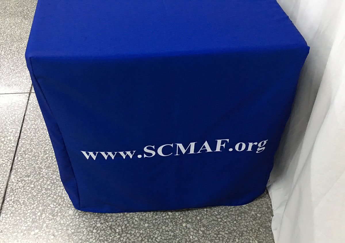 Kittrich Canopy - SCMAF Custom Fitted Table Cover Side