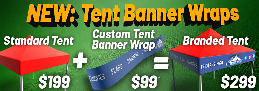 Tent Banner Wrap